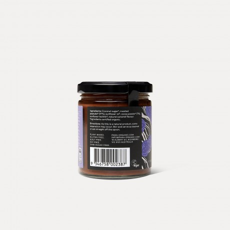 Pana Organic Peanut Butter Chocolate Spread