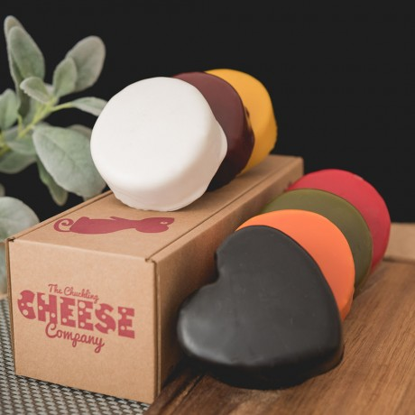 Colourful Rainbow Cheese Gift Box (Box of 7)