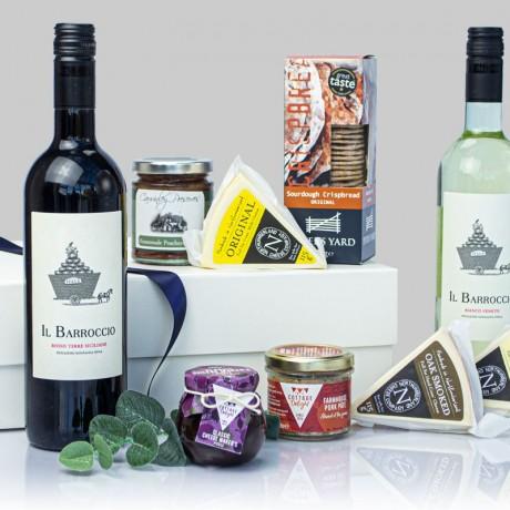 Kielder Luxury Wine & Cheese Hamper