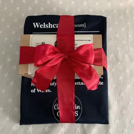Apron & Make Your Own Welshcakes Kit Gift Bundle