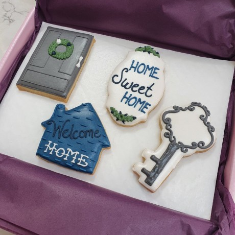 New Home - Home Sweet Home Biscuit Set