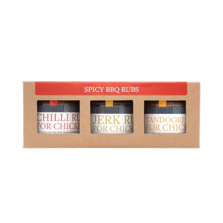 Spicy BBQ Rubs Trio Pack