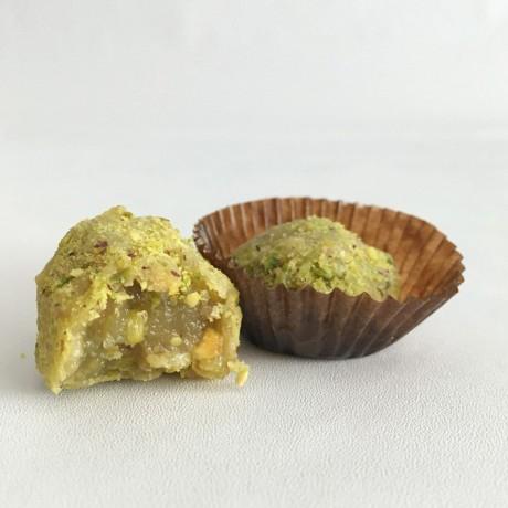 Vegan Pistachio Brigadeiro Truffles