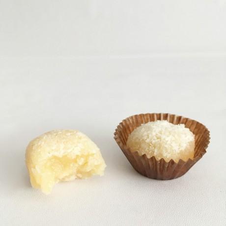 Vegan Coconut Brigadeiro Truffles