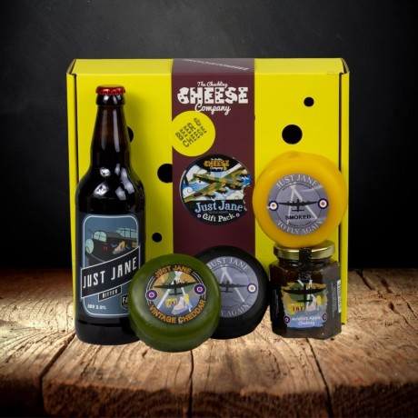 Beer and Cheese Gift Box - Just Jane Lancaster Bomber Pack
