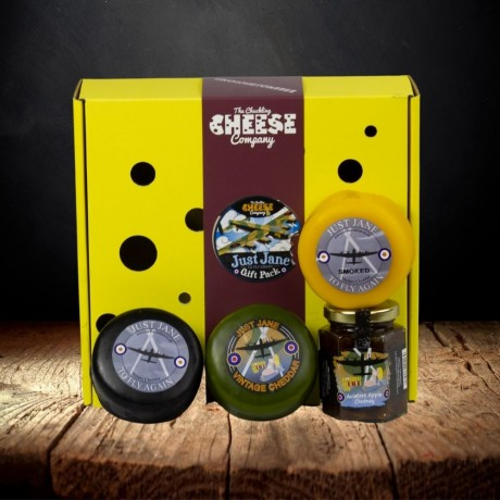 Just Jane Lancaster Bomber Cheese Gift Box