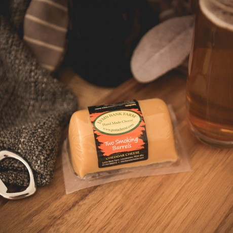 """Two Smoking Barrels"" Cheddar Barrel"