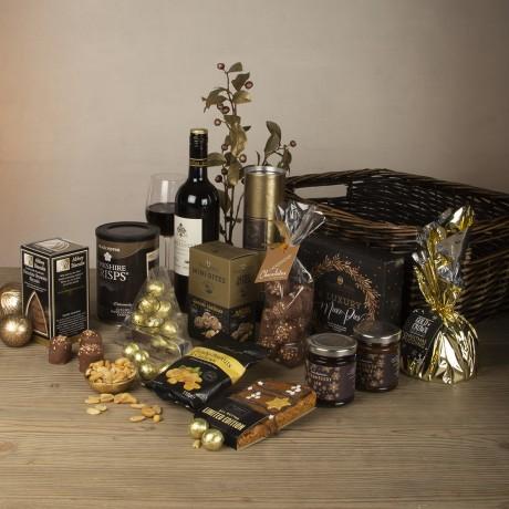 Christmas Cracker Festive Gift Basket