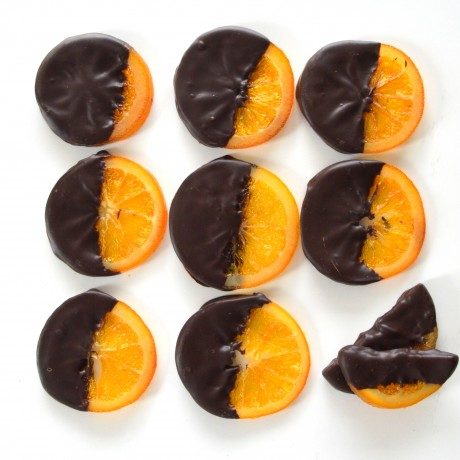 Hand-Dipped Dark Chocolate Candied Orange Slices-Festival Edition