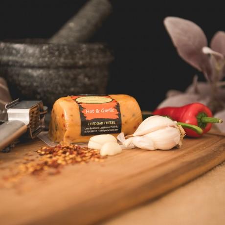 Hot & Garlic Cheddar Barrel