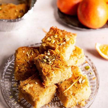 Orange and Pistachio Cake Sharer, Serves 9 - 12