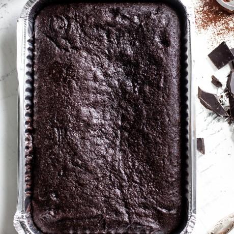 Indulgent Chocolate Brownie Sharer - Serves 12 - 16 ( Gluten and Refined Sugar Free)