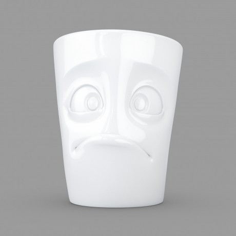 A 'Baffled' unique mug