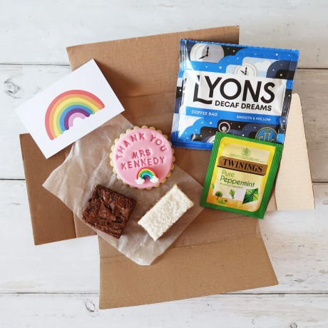 The Personalised Biscuit Treat Box