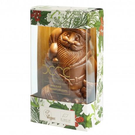 Raw Coconut Chocolate Santa Claus 80g