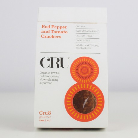 Cru8's Red Pepper and Tomato Crackers