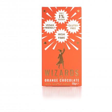 Low Sugar Wizards Magic Orange Chocolate (Pack of 3)