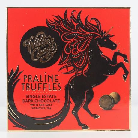Willies Cacao Praline Truffles