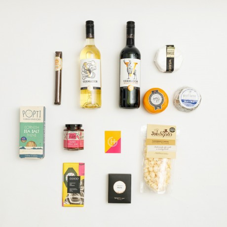 Luxury Artisan Cheese And Wine Hamper Harding Gomez