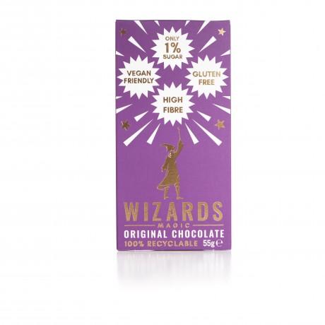 Low Sugar Wizards Magic Original Dark Chocolate (Pack of 3)