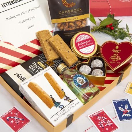 Christmas Festive Letter Box Hamper
