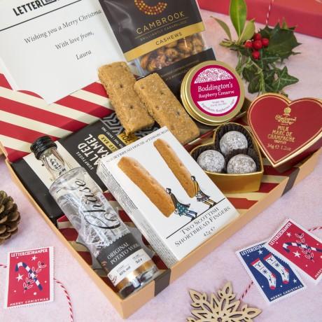 Luxury Christmas Letter Box Hamper
