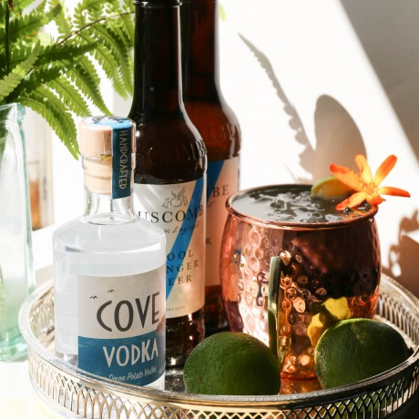 Cove Moscow Mule with flower