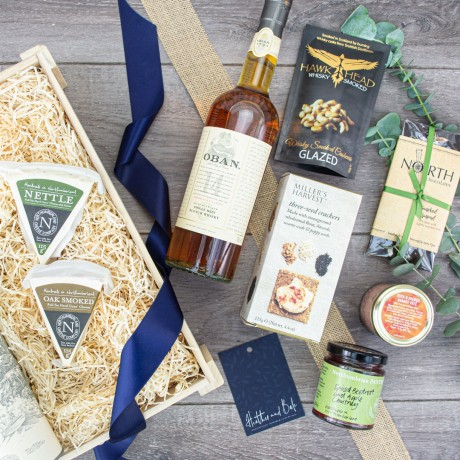Glanton Whisky & Cheese Crate