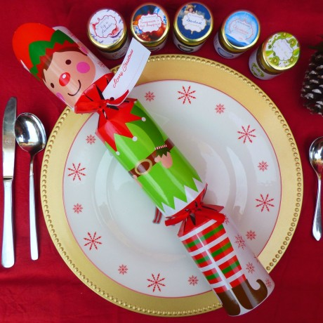 Set of 6 Jam And Marmalade Christmas Crackers
