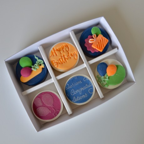 Personalised Coated Oreos Gift Box