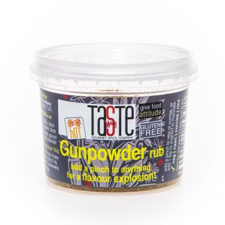 Gunpowder rub
