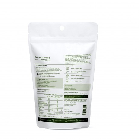Sprout-Powered Sulforaphane Powder (100g)