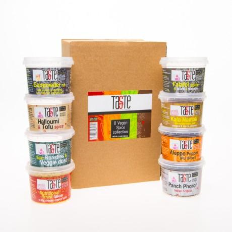 8 Vegan & Veggie Spice Collection