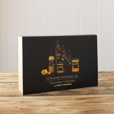 Yorkshire Rapeseed Oil Favourites Collection Box