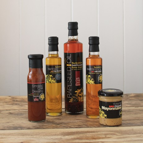 Yorkshire Rapeseed Oil Hot & Smoky Collection