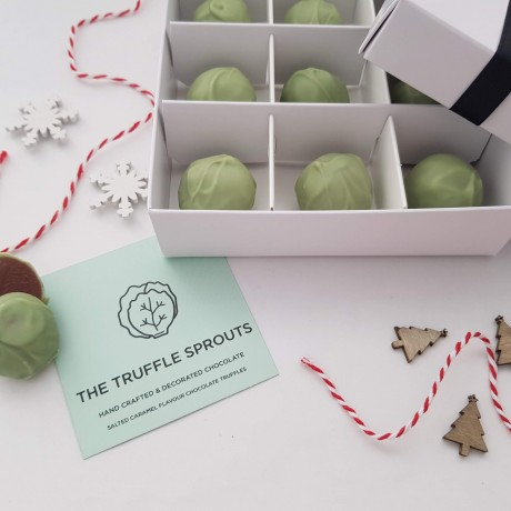 Salted Caramel Truffle Sprouts