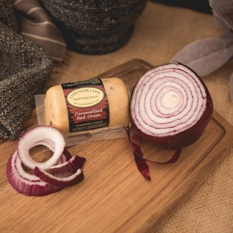 Caramelised Red Onion Cheddar Barrel