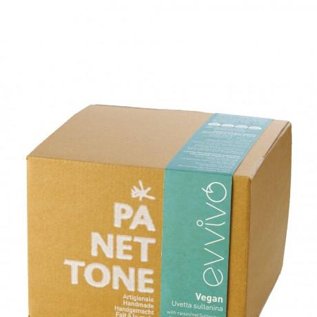 Organic vegan Panettone