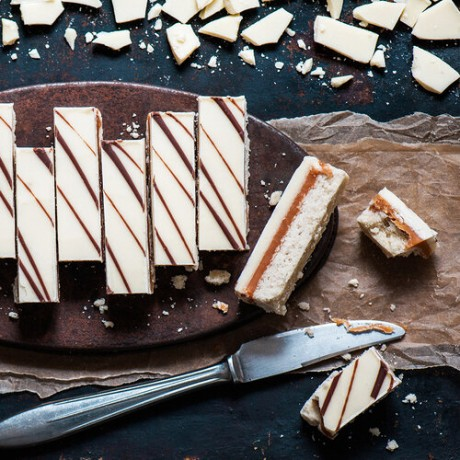 Williams' White Chocolate Caramel Slice