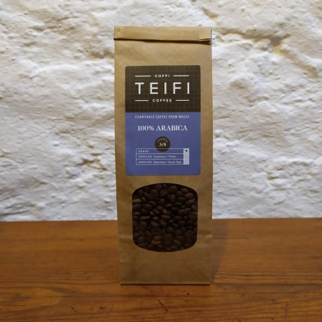 Teifi 100% Arabica Beans 4 x 227g packs