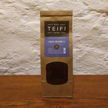 Teifi 100% Arabica Ground Coffee 4 x 227g packs