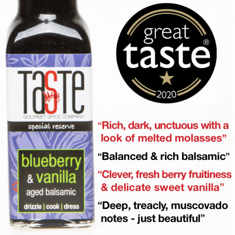 Blueberry & Vanilla 'Special Reserve' Aged Balsamic (2 pack)
