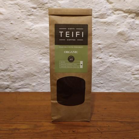 Teifi Organic - Ground Coffee - 4 x 227g packs