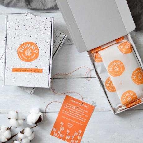 Vegan Baked Doughnuts | Dark Chocolate and Vanilla White Chocolate (Box of 6)