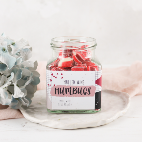 Mulled Wine Humbugs and Lollipop Gift Set