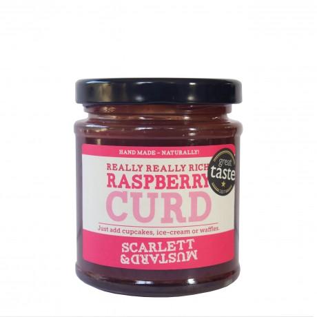Raspberry Curd