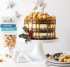 How to Make Triple layer Gingerbread Cake with Joe & Seph's Salted Caramel Popcorn