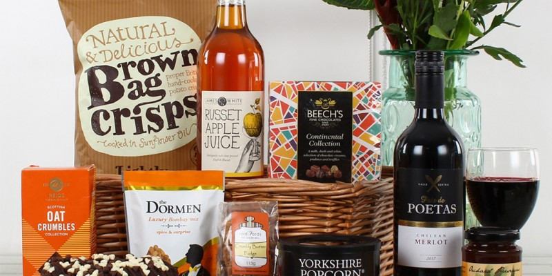 What To Fill Your Hampers With
